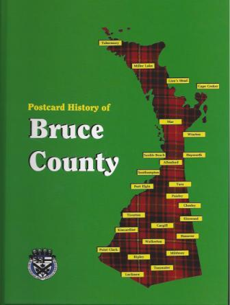 Postcard History of Bruce County book