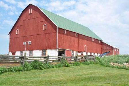Barn in Arran Township, Bruce County, Ontario